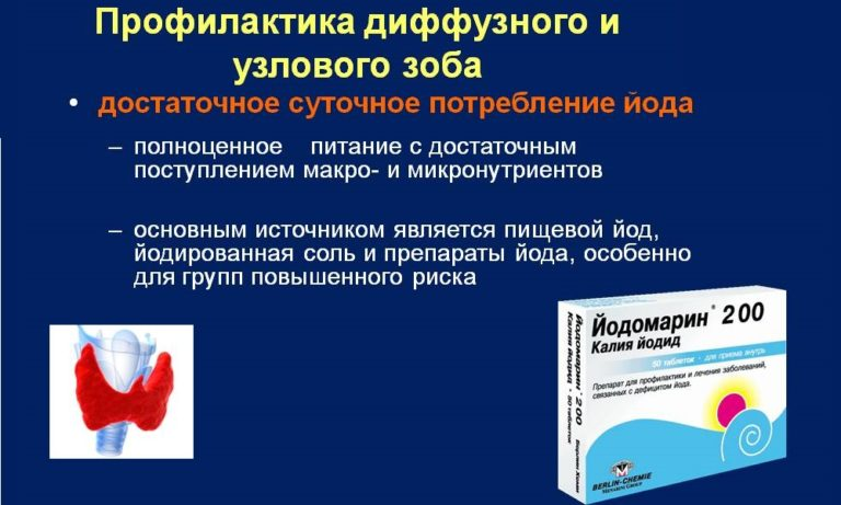Тиреоидит диффузно узловой