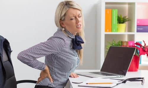 Сидячая работа способна стать провоцирующим фактором возникновения болезни