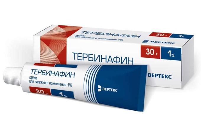 Тербинафин - противогрибковый препарат для наружного применения