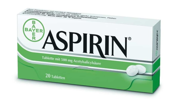 При цистите геморрагического типа категорически противопоказан аспирин, который усиливает кровотечение