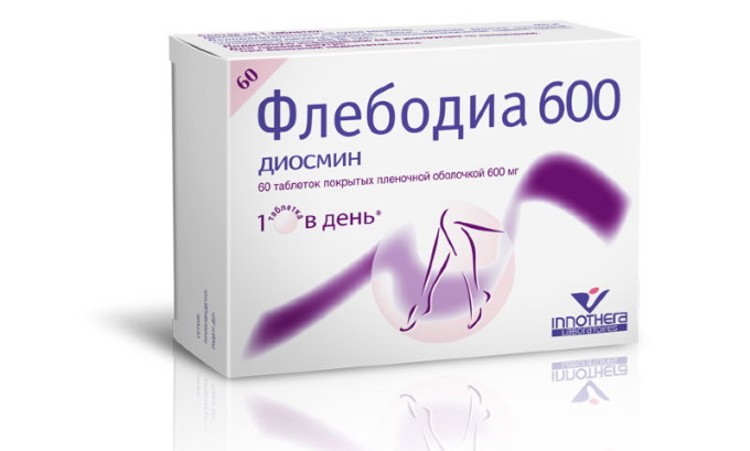 «Флебодиа 600» улучшает процессы кровообращения, укрепляет стенки сосудов и тем самым позволяет избавиться от тяжести в ногах