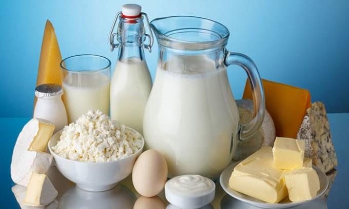 Рацион больного должен обязательно включать молочные продукты