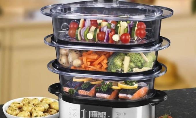 Блюда должны быть приготовлены исключительно на пару или в отваренном виде