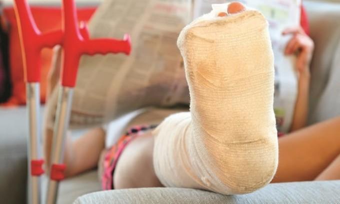 Плоскостопие может сформироваться в результате травмы