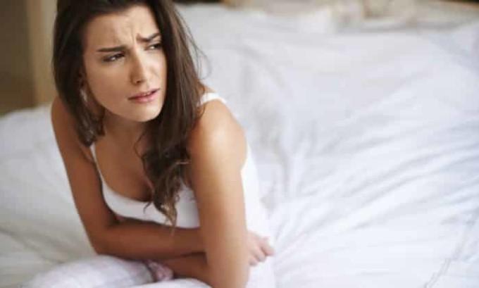 Признаком варикоза матки является боль внизу живота