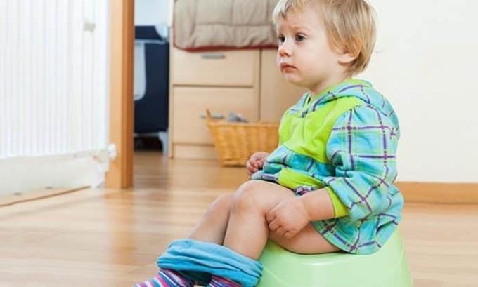 Частая диарея у ребенка может быть признаком панкреатита