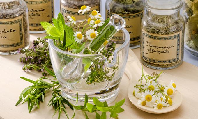 Травяные сборы помогают облегчить состояние больного