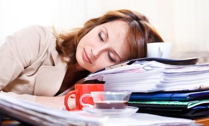 Больной быстро утомляется и не может продолжать привычную деятельность