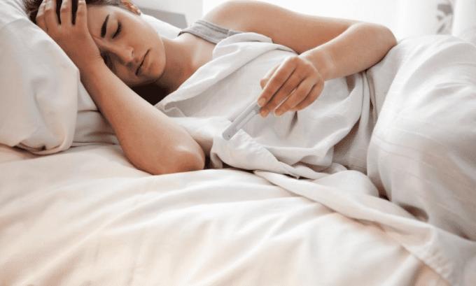 Повышение температуры тела при цистите