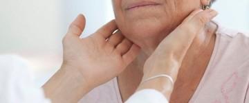 Техника пальпации щитовидной железы