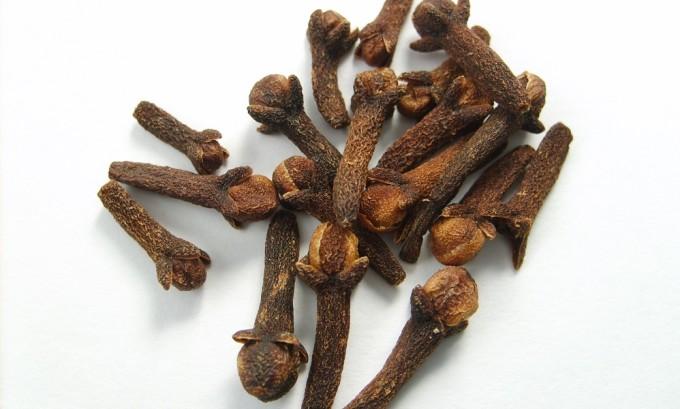 Зерна гвоздики содержат алкалоиды и органические кислоты, которые эффективно борются с варикозом