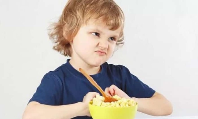 К наиболее распространенным признакам гипоплазии у детей относят снижение аппетита