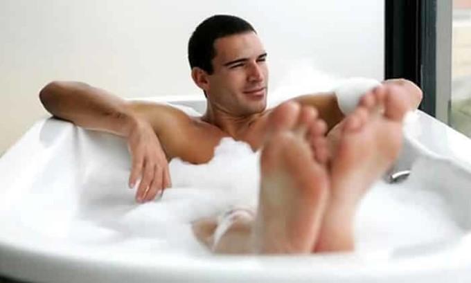 Для мужчины существует запрет на проведение банных процедур