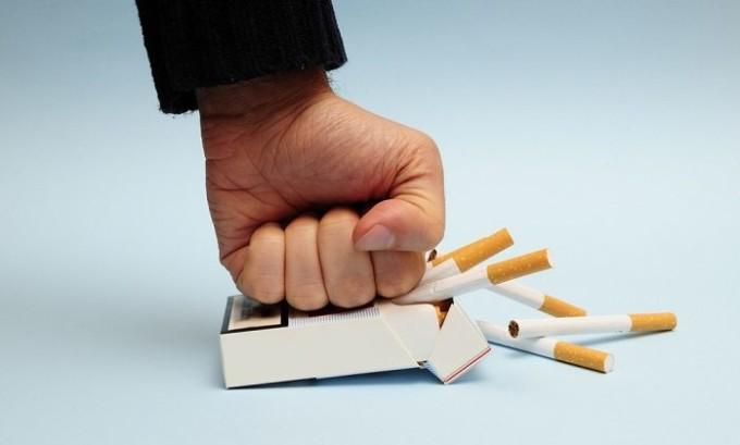 Нужно забыть о курении