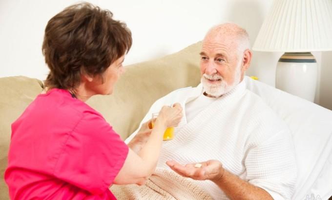 Лимфостаз развивается у людей, которые прикованы к постели