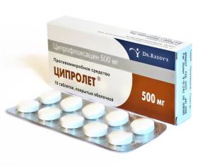 Ципролет с алкоголем может быть опасен из-за побочных эффектов лекарства