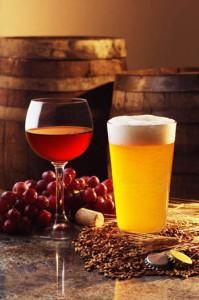 Пиво и вино