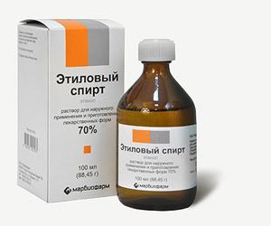Лекарство на основе этилового спирта