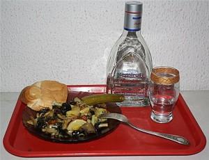 грибы и водка