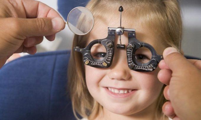 У малыша могут быть серьезные проблемы со зрением