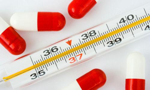 Один из основных признаков подострого воспаления щитовидной железы - повышение температуры тела