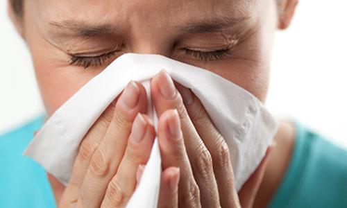Простуда при частой заложенности носа может вызвать купероз на носу