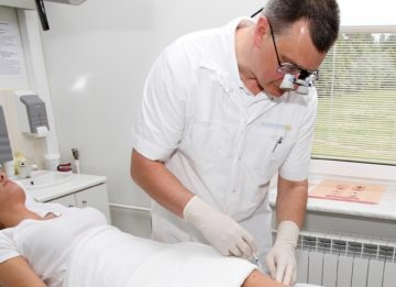 Лечение варикоза вен нижних конечностей методом склеротерапии
