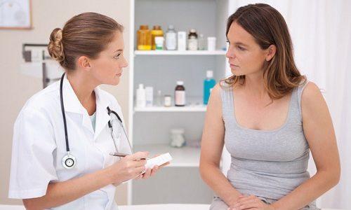 Если недуг еще не диагностирован, но уже дает о себе знать, то для начала следует обратиться за помощью к врачу