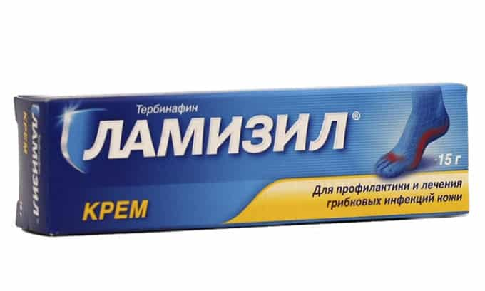Ламизил – распространенное и достаточно эффективное средство против грибка на ногах
